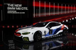 Auto Show de Frankfurt 2017: BMW M8 GTE, el hermano mayor del Serie 8 y el M8