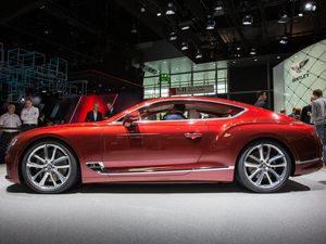 Salón del Automóvil de Frankfurt 2018: Bentley Continental GT 2018: ahora más especial, lujoso y tecnológico