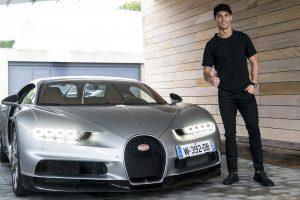 El nuevo auto de Cristiano Ronaldo es un Bugatti Chiron de 2,5 millones de euros