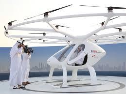 Flying Taxi, el taxi volador del futuro