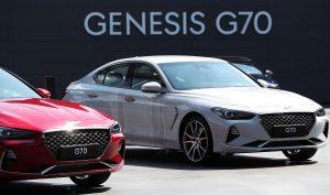 Genesis G70 2018: un lujoso sedán que llega a rivalizar con los poderosos alemanes.