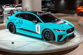 Salón de Frankfurt 2017: Jaguar i Pace eTrophy, una competición monomarca dentro de la Fórmula E