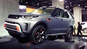 Salón de Frankfurt 2017: Land Rover Discovery SVX, una versión más campera y  potente