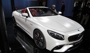 Salón de Frankfurt 2017: Mercedes-Benz Clase S Cabriolet 2018, confort, lujo y exclusividad
