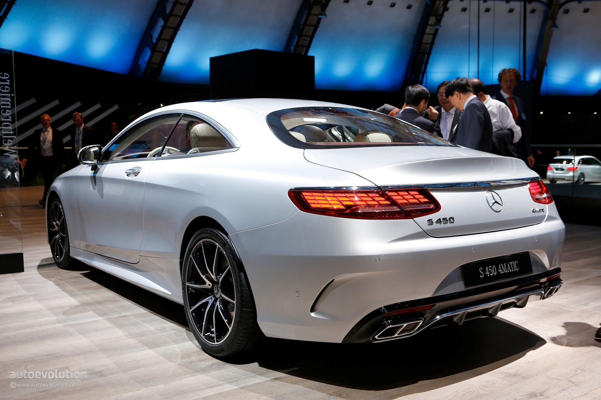 S Class Coupe >> Salón de Frankfurt 2017: Mercedes-Benz Clase S Coupé 2018, rediseñado y más potente | Lista de ...