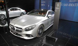 Salón de Frankfurt 2017: Mercedes-Benz Clase S Coupé 2018, rediseñado y más potente