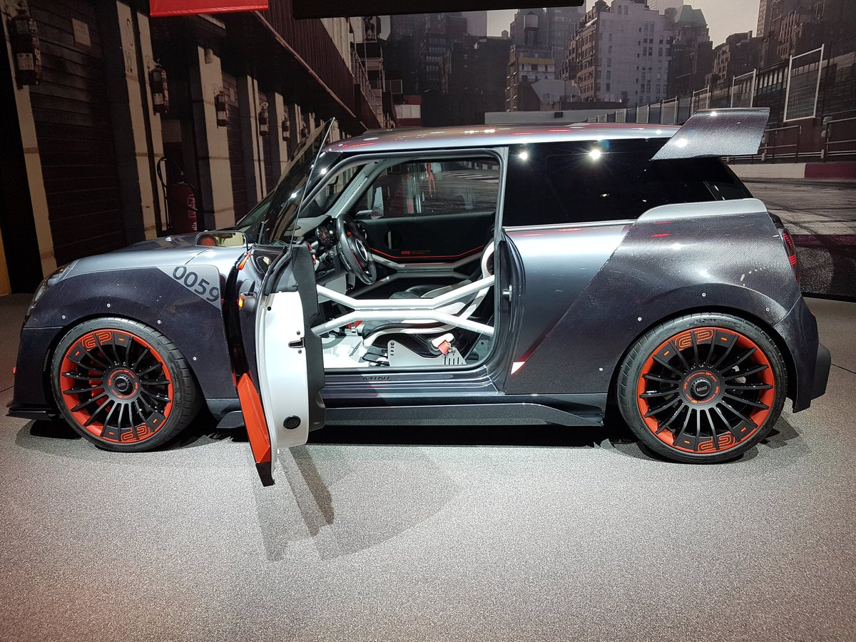 auto show de frankfurt 2017 mini john cooper works gp un concept muy especial lista de carros. Black Bedroom Furniture Sets. Home Design Ideas
