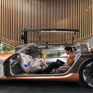 Salón de Frankfurt 2017: Renault Symbioz Concept, así será la movilidad en 2030.