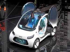 Autoshow de Frankfurt de 2017: SDmart Vision EQ fortwo, el futuro será autónomo y eléctrico