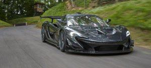 Subastan un McLaren P1 GTR de 1.000 CV homologado para carretera con sólo 360 km