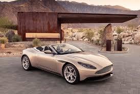 Aston Martin DB11 Volante 2018: belleza, elegancia y exclusividad a cielo abierto