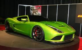 Revenge Verde Supercar: belleza, poder y exclusividad