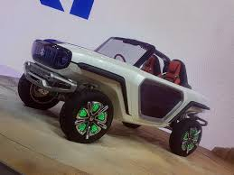 Auto Show de Tokio 2017 :Suzuki e-Survivor Concept, un 4X4 eléctrico muy futurista