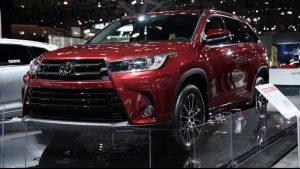 Toyota Highlander 2018: poder, capacidad, garantía y músculos