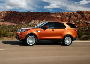 Land Rover Discovery 2018: aerodinámica, moderna y atractiva.