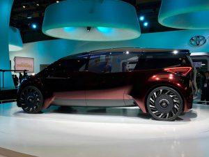 Toyota Fine-Comfort Ride: una minivan eléctrica y con hidrógeno