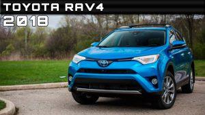 Toyota RAV4 2018: pequeños cambios para continuar su exitosa existencia.