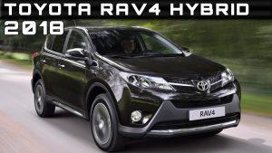 Toyota RAV4 Hybrid 2018: pequeños retoques y mayor equipamiento