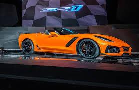 Auto Show de Los Ángeles 2017: Chevrolet Corvette ZR1 Convertible 2019, una hermosa bestia