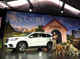 Auto Show de Los Ángeles 2017: Subaru Ascent 2019, el sucesor del Tribeca