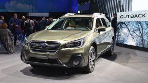Subaru Outback 2018: mejor diseño, más equipamiento