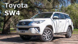 Toyota Fortuner SW4 2018: elegancia, poder y capacidades