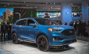 Auto Show de Detroit 2018 (NAIAS 2018): Ford Edge ST 2019, una SUV deportiva con 335 Hp