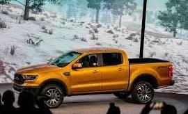 Auto Show de Detroit 2018 (NAIAS 2018): Ford Ranger 2019, con motor Ecoboost para regresar a EEUU
