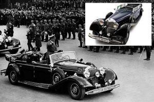 Subastan el Mercedes-Benz 770K de Adolfo Hitler