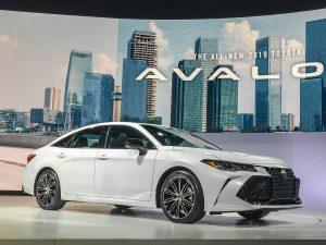 Auto Show de Detroit 2018: Toyota Avalon 2019, más tecnología y un atrevido diseño.