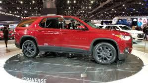 Salón de Chicago 2018: Chevrolet Traverse RS, más  deportiva