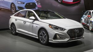Salón de Chicago 2018: Hyundai actualiza el Sonata Hybrid y el PHEV 2018