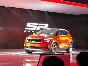 Kia SP Concept Concept, el mini SUV para países emergentes que debutó en la India