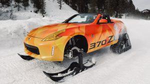 Pre-Salón de Chicago 2018: Nissan 370Zki Concept, un auto para divertirnos en la nieve.