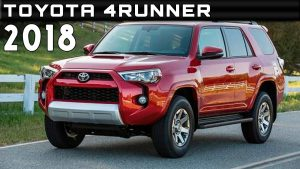 Toyota 4Runner 2018: poderoso y muy capaz