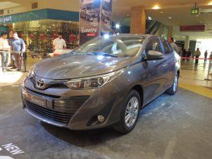 Toyota Yaris Sedán 2018: una actualización profunda.