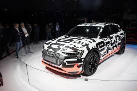 Salón de Ginebra 2018:  Audi E-Tron Prototype, el primer 100% eléctrico de los cuatro aros