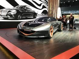 Auto Show de Nueva York 2018: Genesis Essentia Concept, un Gran turismo eléctrico llega de Corea.