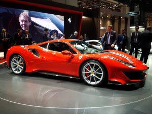 Salón de Ginebra 2018: Ferrari 488 Pista 2019, el Ferrari V8 más poderoso jamás fabricado.