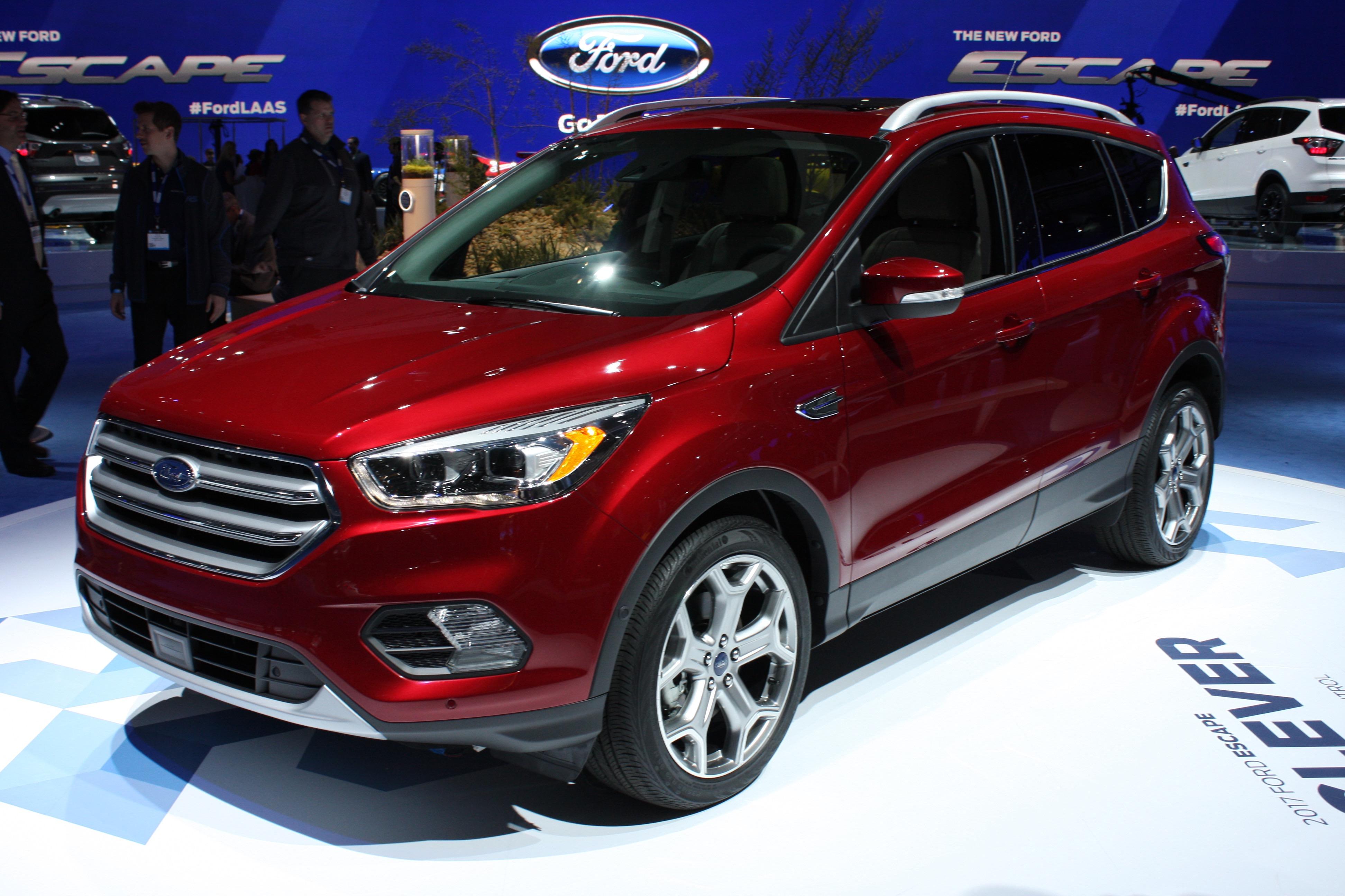 Ford Escape 2018: mejor diseño y más equipamiento | Lista ...
