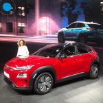 Auto Show de Ginebra 2018: Hyundai Kona Eléctrica, hasta 470 km de autonomía para esta innovadora SUV.