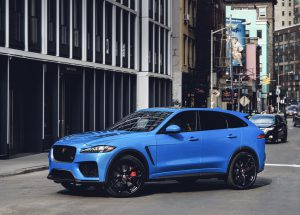 Salón  de Nueva York 2018: Jaguar F-Pace SVR 2019, hermoso y potente