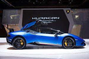 Salón de Ginebra 2018: Lamborghini Huracán Performante Spyder, uno de los roadsters más rápidos del mundo