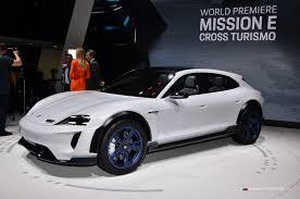 Salón de Ginebra 2018: Porsche Mission E Cross Turismo Concept, así será la versión definitiva