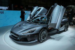Motor Show Ginebra 2018: Rimac C_Two, un hypercar eléctrico con casi 2,000 CV