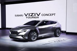 Salón de Ginebra 2018: Subaru VIZIV Tourer Concept, un futuro auto familiar.