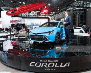 Salón de Nueva York 2018: Toyota Corolla Hatchback 2019, el hermano gemelo del Auris.