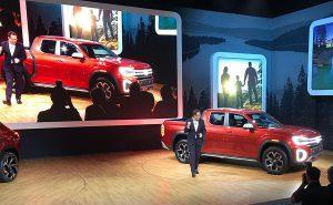 Salón de Nueva York 2018: Volkswagen Atlas Tanoak Concept, una pick Up pensada para EEUU