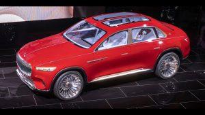 Salón de Beijing 2018: Mercedes-Maybach Vision Ultimate Luxury Concept, un eléctrico con 750 CV y mucha autonomía