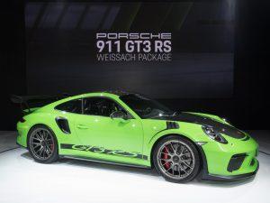 Salón de Nueva York 2018: Porsche 911 GT3 RS Weissach Package, más desempeño, más exclusividad